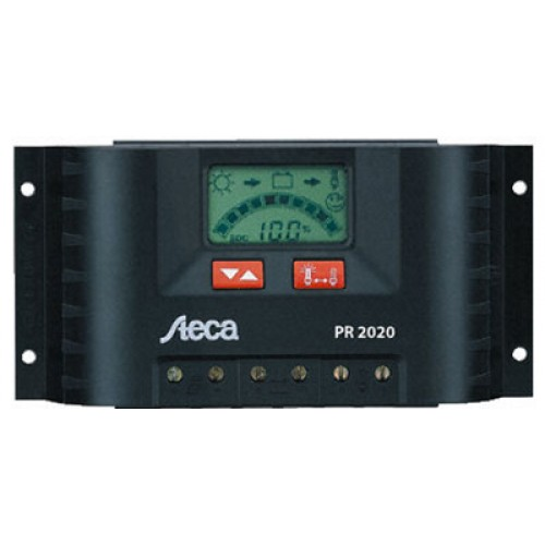 Steca PR 2020 LCD 12/24 20A Regulator - IP65