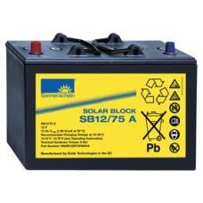 Sonnenschein SOLAR BLOCK SB12/75A 12V 75AH Gel Battery